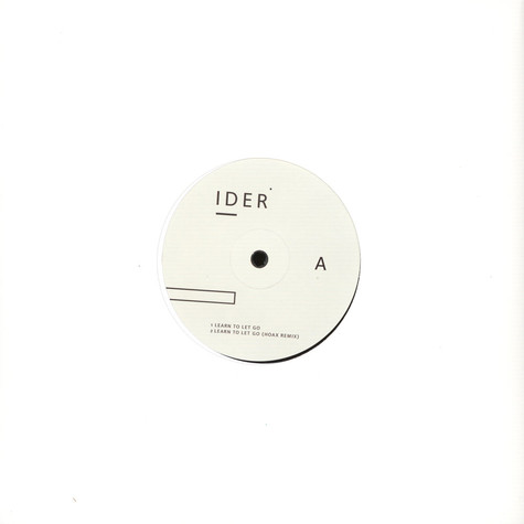 Ider - Learn To Let Go / Body Love