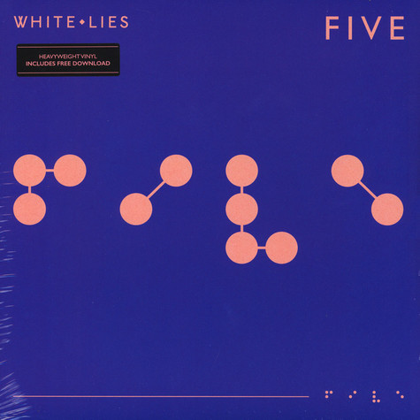 White Lies - Five Black Vinyl Edition
