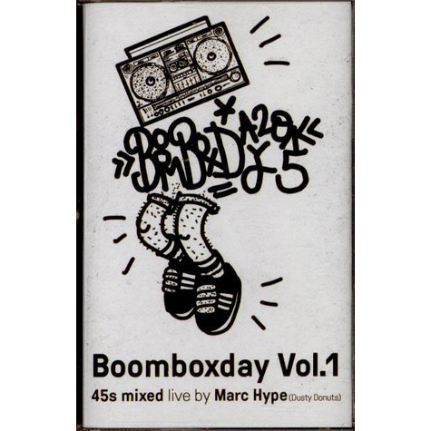 Marc Hype - Boomboxday Vol.1