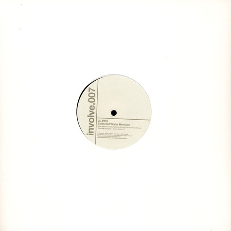 Z.I.P.P.O - Collected Works Remixes