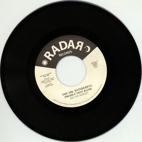 Mr. Wonderful Production Band, The - Are You Serious / Just Another From My Past