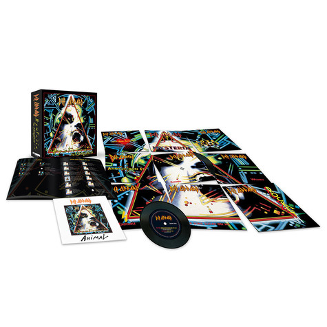 "Def Leppard - The Hysteria Singles Limited 7"" Vinyl Box"