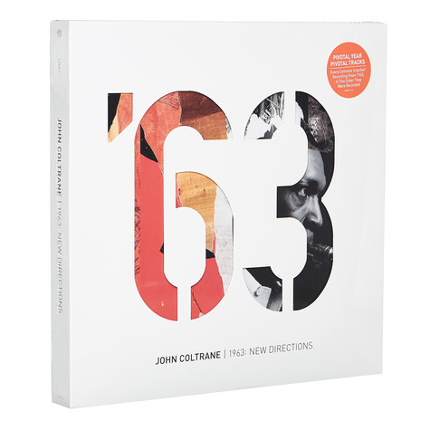 John Coltrane - 1963: New Directions Limited Edition Box Set