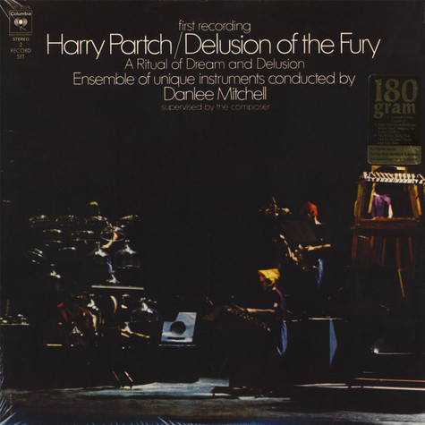 Harry Partch - Delusion Of Fury