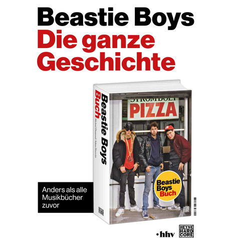 Michael Diamond & Adam Horovitz (Mike D & Ad Rock of Beastie Boys) - Beastie Boys Book Poster