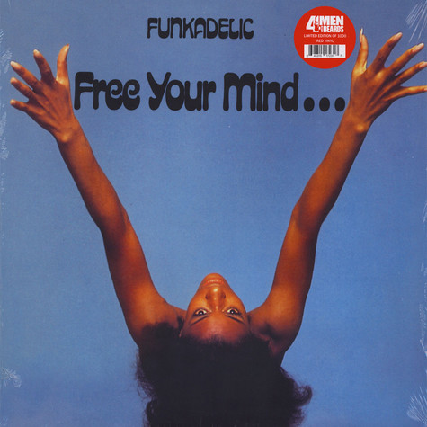Funkadelic - Free Your Mind... And Your Ass Will Follow Red Vinyl Edition