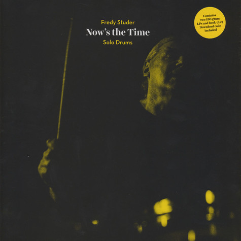 Fredy Studer - Now's The Time - Solo Drums