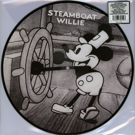 Va Ost Mickey Mouse Steamboat Willie Limited Picture Disc