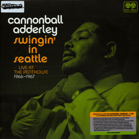 Cannonball Adderley - Swingin' In Seattle, Live At The Penthouse 1966-1967