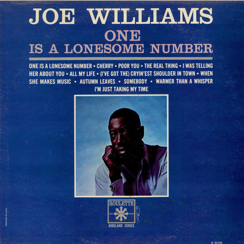 Joe Williams - One Is A Lonesome Number