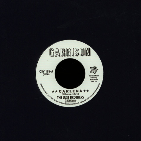 Just Brothers, The / The Honey Bees - Carlena / Let's Get Back Together