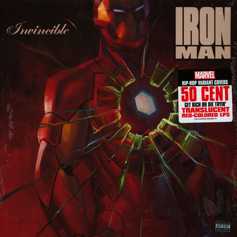 50 Cent - Get Rich Or Die Tryin Basic Marvel Edition
