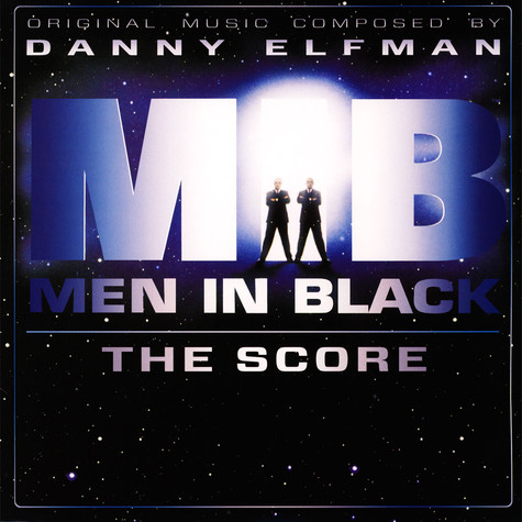 Danny Elfman - OST Men In Black The Score Silver Vinyl Edition