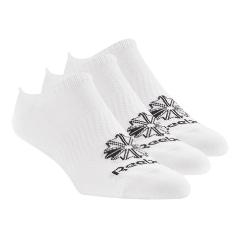 Reebok - Classic Foundation Invisible Socks 3 Pack