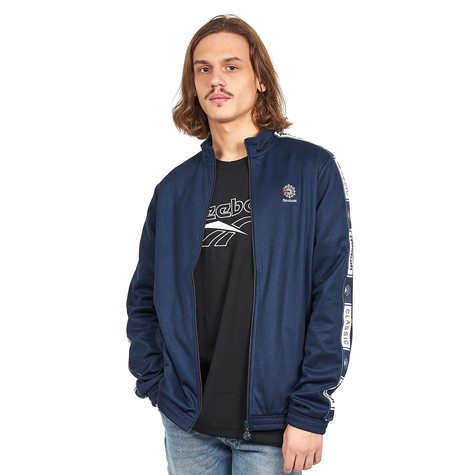cd0fb6a9b4f Reebok - Classic Taped Tracktop (Collegiate Navy)