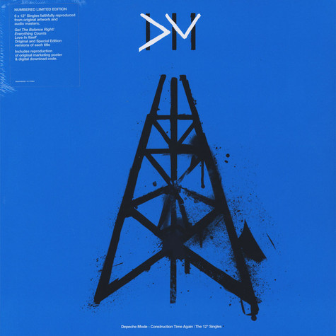 "Depeche Mode - Construction Time Again - The 12"" Singles Collection"