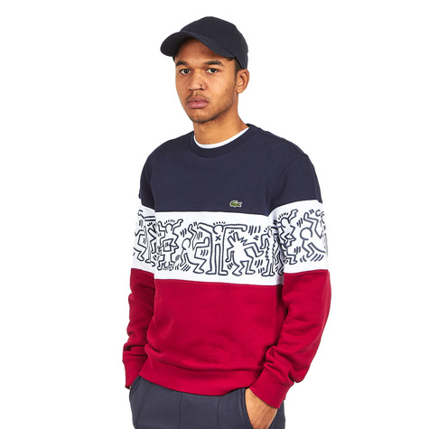 Lacoste x Keith Haring - Non Brushed Fleece Sweatshirt