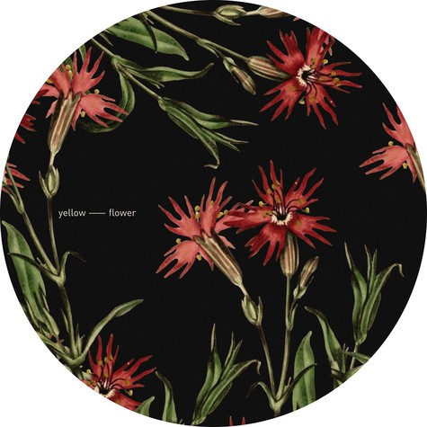 "Yellow Flower - Flower 3 12"" Slipmat"