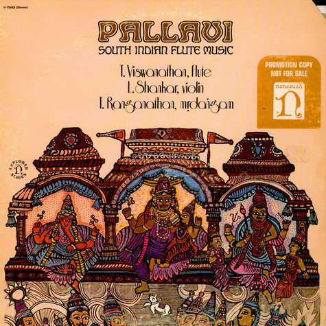 Tanjore Viswanathan, ShankarTanjore, Ranganathan - Pallavi: South Indian Flute Music