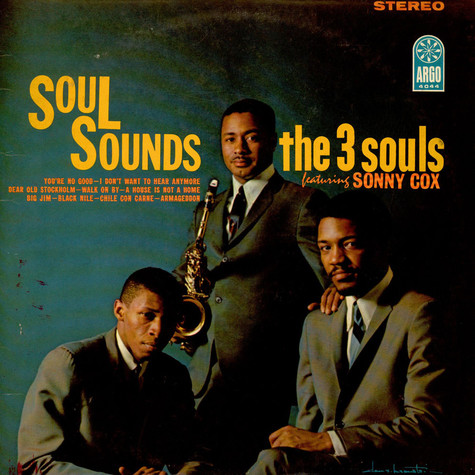 The Three Souls Featuring Sonny Cox - Soul Sounds