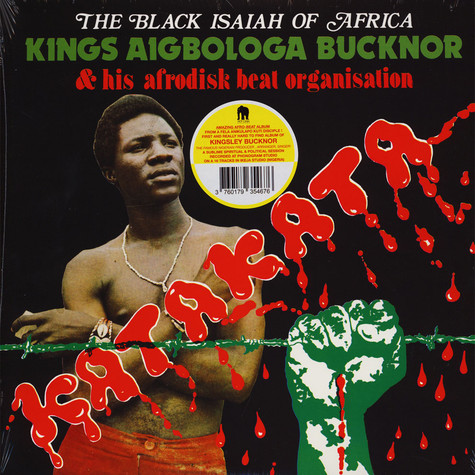 Kings Aigbologa Bucknor & His Afrodisk Beat Organisation - Katakata