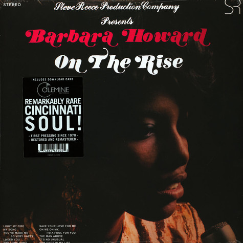 Barbara Howard - On The Rise Black Vinyl Edition