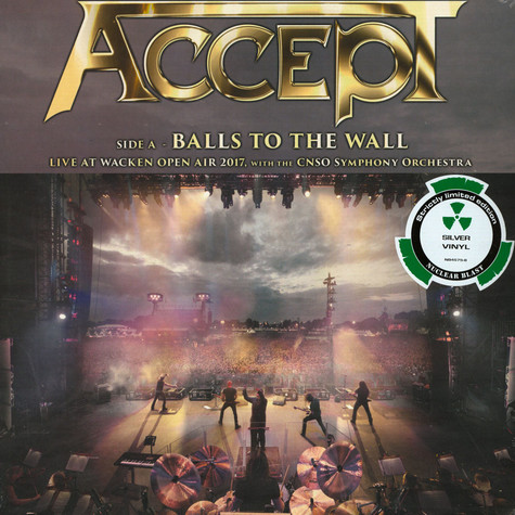 Accept - Balls To The Wall (Live) Silver Vinyl Edition