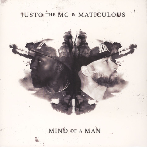Justo The MC & Maticulous - Mind Of A Man Black & Grey Vinyl Edition