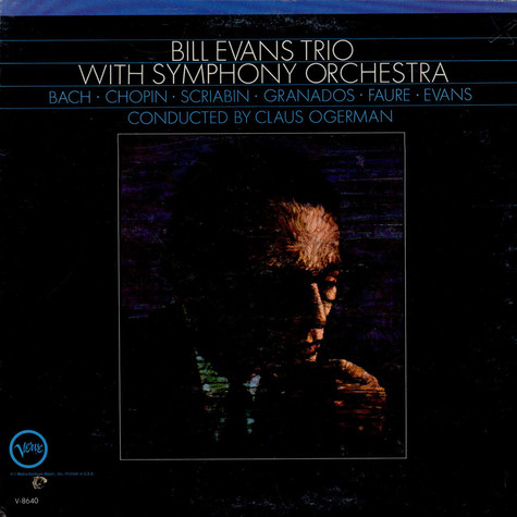 Bill Evans Trio, The - Bill Evans Trio With Symphony Orchestra