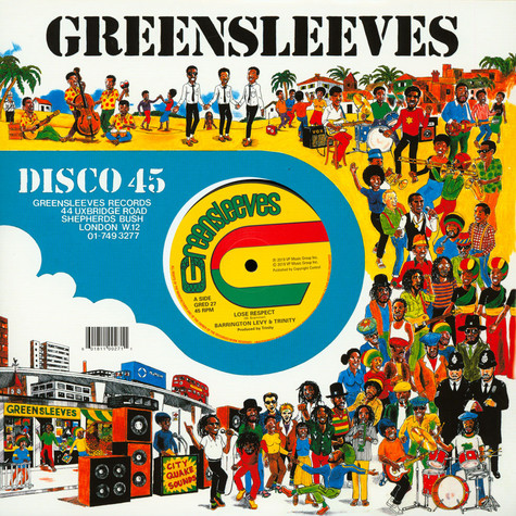 Barrington Levy & Trinity - Lose Respect (Externded Version)