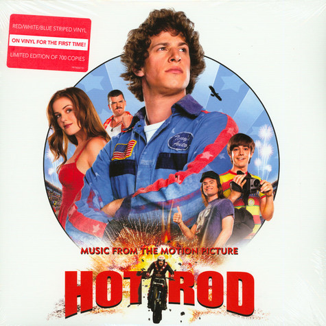 V.A. - OST Hot Rod Colored Vinyl Record Store Day 2019 Edition