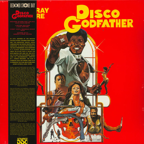 Juice People Unlimited - OST Disco Godfather Record Store Day 2019 Edition