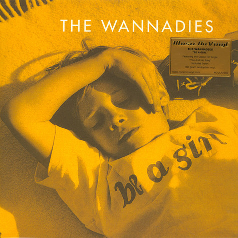 Wannadies - Be A Girl Black Vinyl Edition