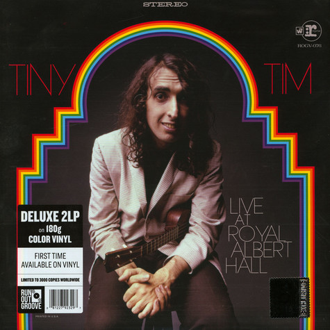 Tiny Tim - Live! At The Royal Albert Hall Record Store Day 2019 Edition