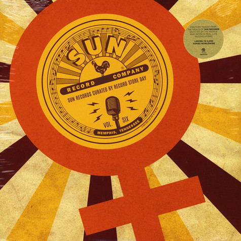 V.A. - Sun Records Curated By Record Store Day, Vol.6 Record Store Day 2019 Edition