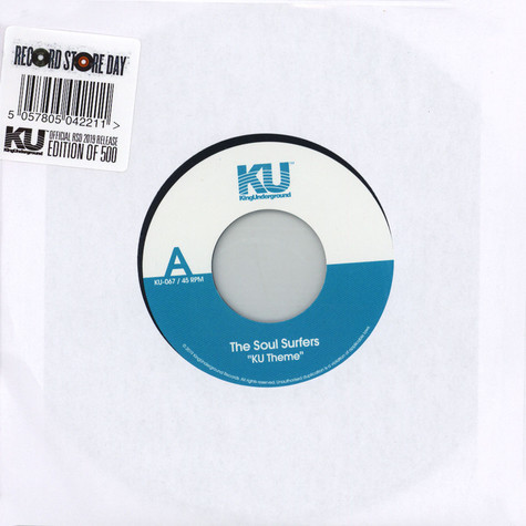 Soul Surfers, The - KU Theme / Stoned Sade
