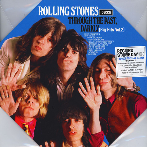 Rolling Stones, The - Through The Past, Darkly (Big Hits Vol. 2) Colored Vinyl Record Store Day 2019 Edition