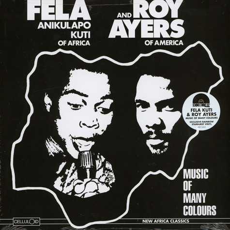 Fela Kuti & Roy Ayers - Music Of Many Colours Record Store Day 2019 Edition