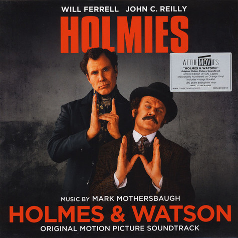 V.A. - OST Holmes & Watson Colored Vinyl Edition
