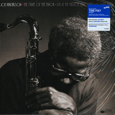 Joe Henderson - State Of The Tenor 2