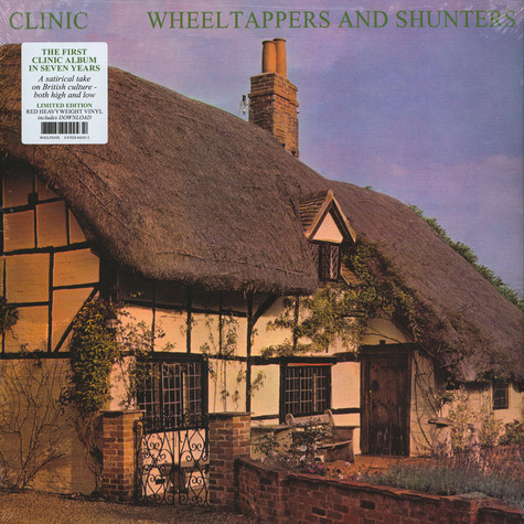 Clinic - Wheeltappers And Shunters Red Vinyl Edition