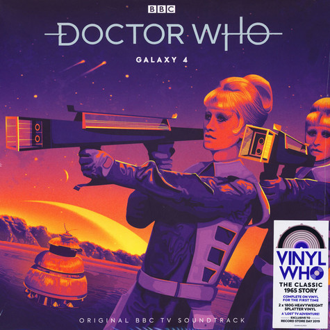 Dr. Who - Galaxy 4 Splatter Colored Vinyl Record Store Day 2019 Edition