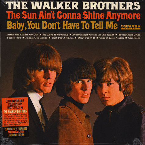 Walker Brothers, The - The Sun Aint Gonna Shine Anymore