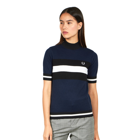 Fred Perry - Textured Turtle Neck Jumper