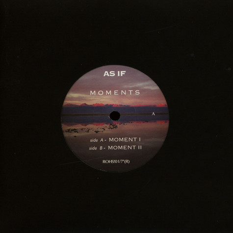 As If - Moments EP