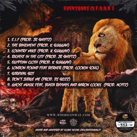 Conway - Everything Is F.O.O.D. 3