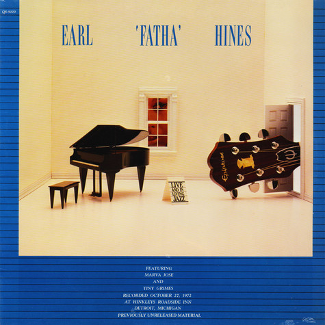 Earl Fatha Hines - Live And In Living Jazz