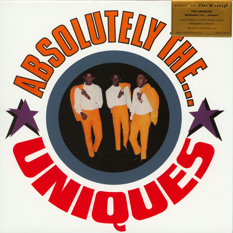 Uniques - Absolutely The Uniques Coloured Vinyl Edition