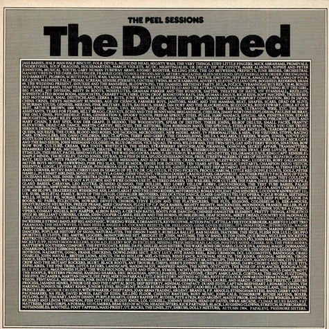 Damned, The - The Peel Sessions