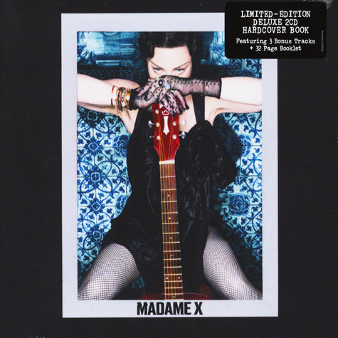 Madonna - Madame X Limited Deluxe Hardcover Book Edition